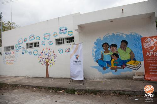 Actividad de Sensibilización Social en el sur de la ciudad de Mérida en conjunto con el IPIEMH